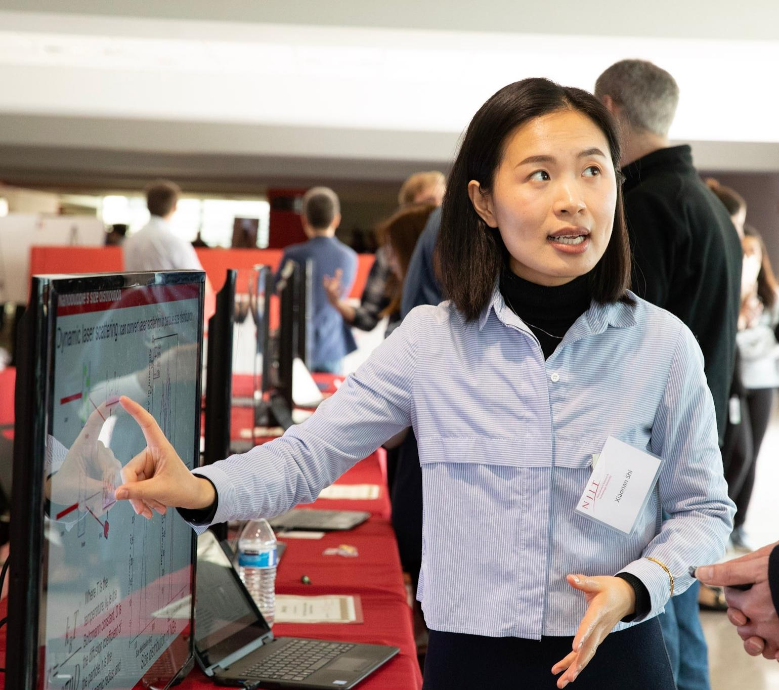Environmental Engineering Ph.D. student, Xiaonan Shi, describes her recent research involving the use of nanobubbles to improve environmental remediation efforts and enhance agricultural growth.