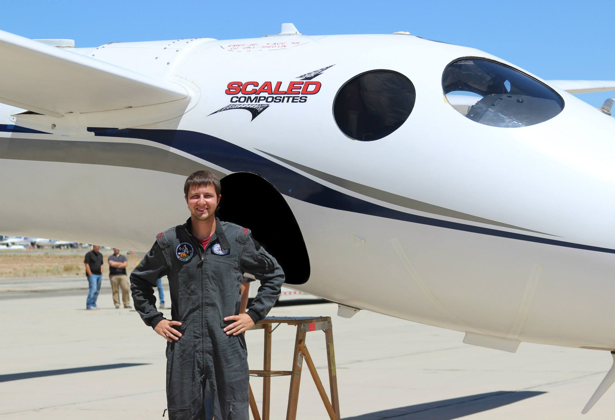 Michael Anderson is in design engineering at Scaled Composites.
