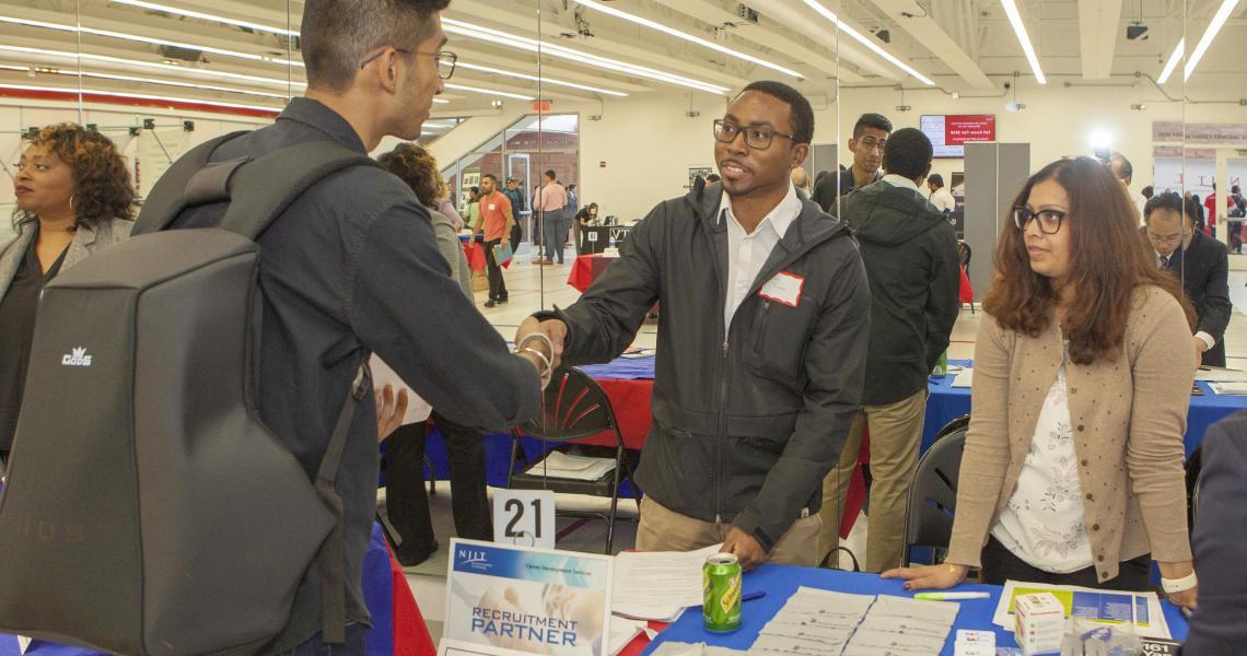 2018 Fall Career Fair at NJIT