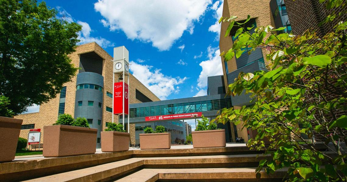 NJIT Campus During Summer