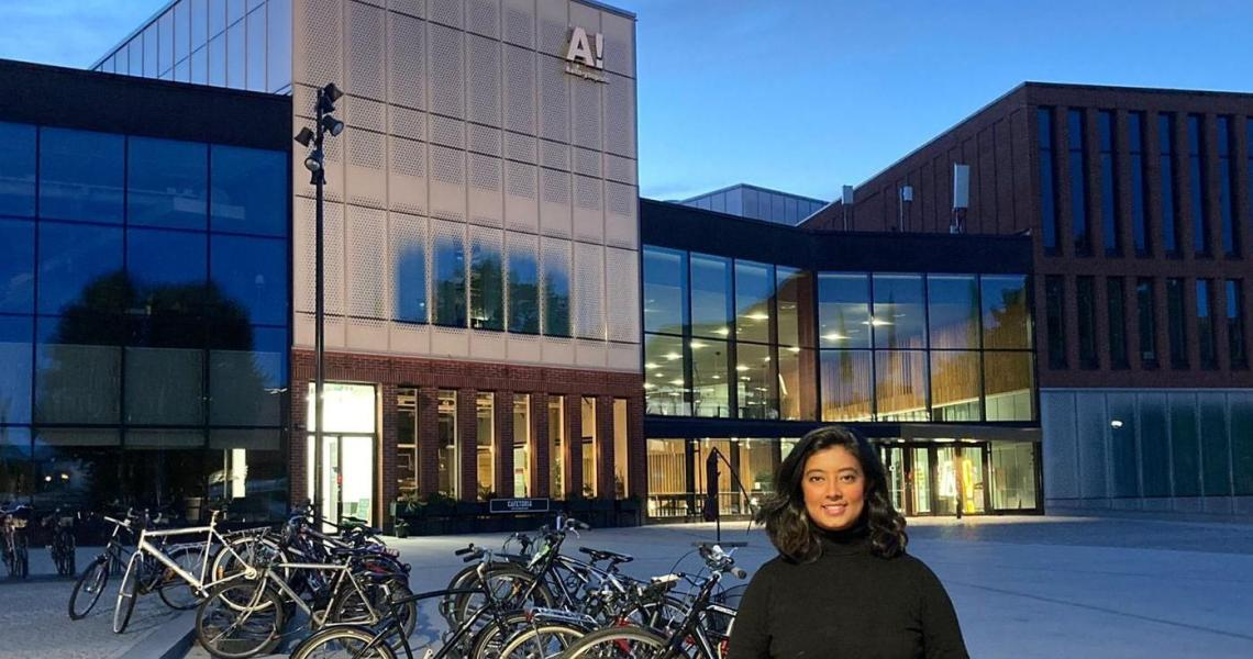 Afrida Kabir arrived at Aalto University in August to study in the school's Advanced Energy Solutions master's program.
