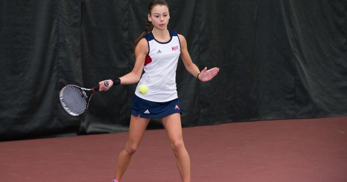 The women's tennis team concluded the two-day NJIT Winter Invitational, notching three victories in doubles play Sunday at The Naimol Family Athletic and Recreational Facility.