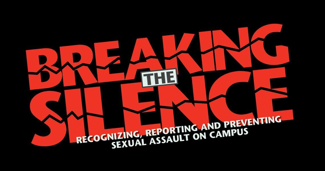 Title IX Regional Student Summit Breaking the Silence logo.