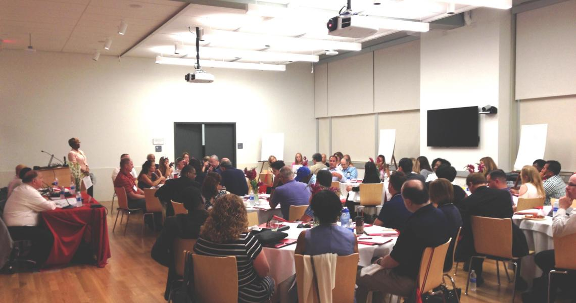 CPCP's STEM Forum welcomed more than 50 educators from throughout New Jersey.