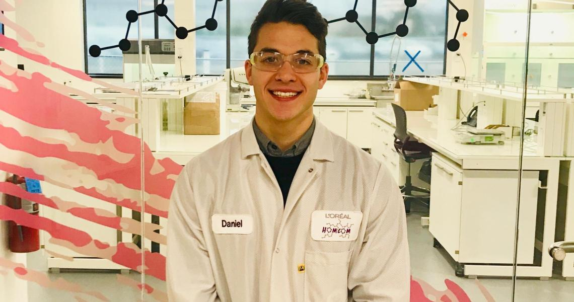 Chemical Engineering Major Is NJIT's Intern of the Year