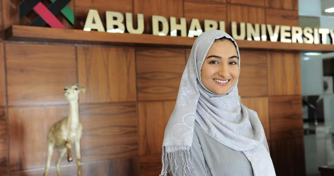 Fulbright scholar and NJIT alumna Jenan Abu-Hakmeh