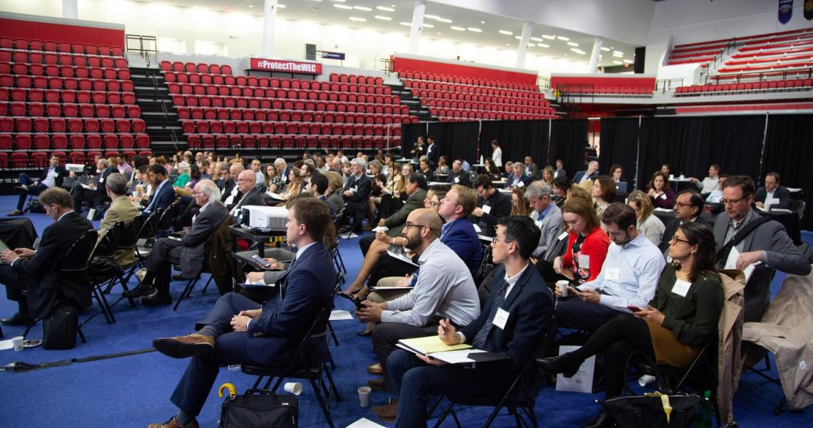 Attendees at the MetroLab Network 2018 Annual Summit