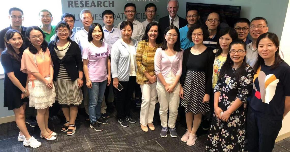 LIXIN faculty at Martin Tuchman School of Management
