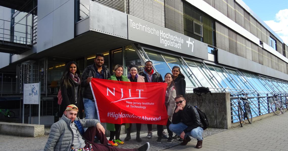 School of Management Faculty-led Study Abroad Goes to Germany | NJIT