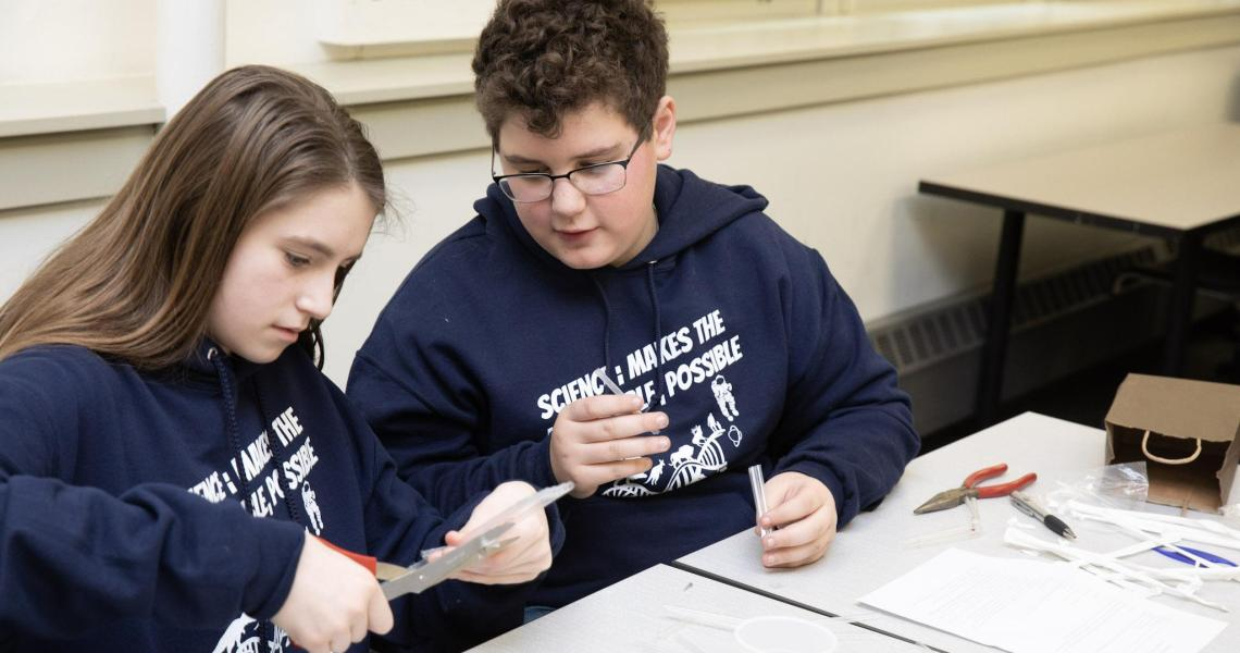 Mystery Architecture competition at 2019 Science Olympiad