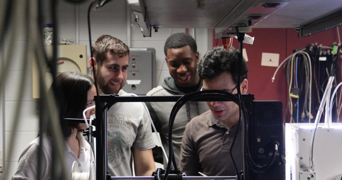 undergraduate researchers at NJIT