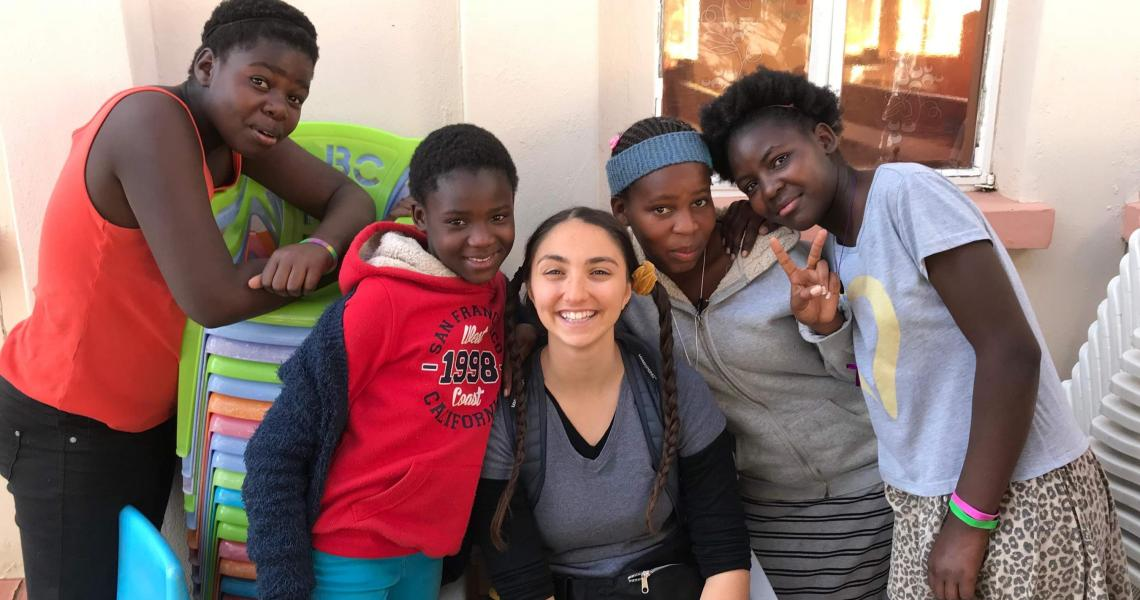 Honors Student Yasmine Ghattas