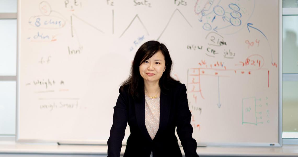 Yi Chen, a professor and the Henry J. Leir Chair in Healthcare at Martin Tuchman School of Management