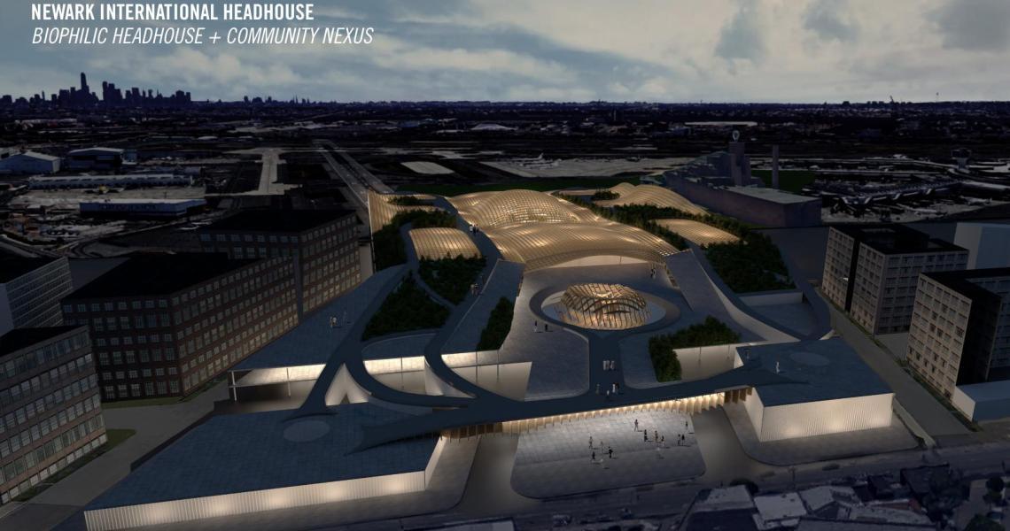 Future vision of Newark Airport