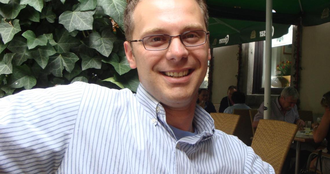 Mechanical engineering professor Shawn Chester