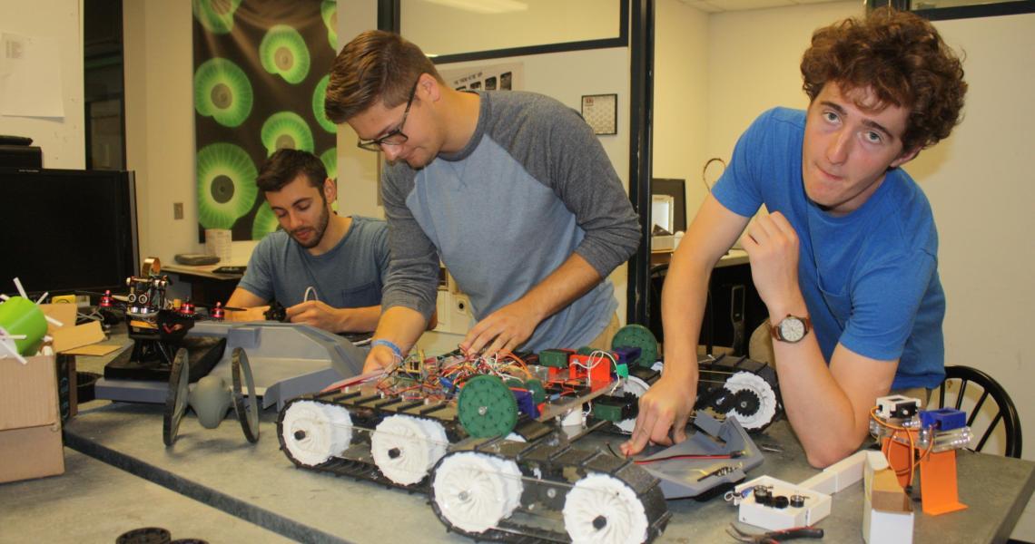 undergraduate drone fleet team
