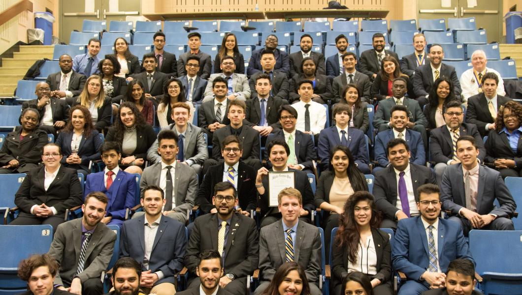 Alpha Kappa Psi business fraternity