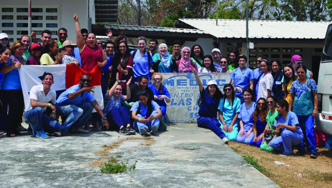 Members of NJIT's chapter of Global Brigades partnered with medical professionals on health care initiatives in Las Lajas, Panama, during spring break.