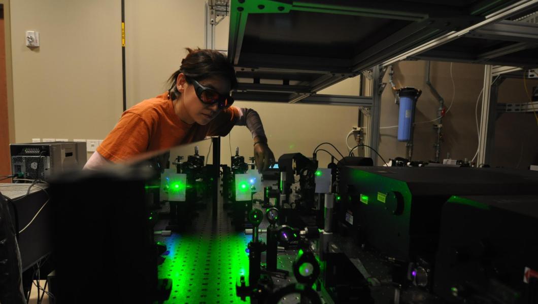 Kevin Belfield's lab