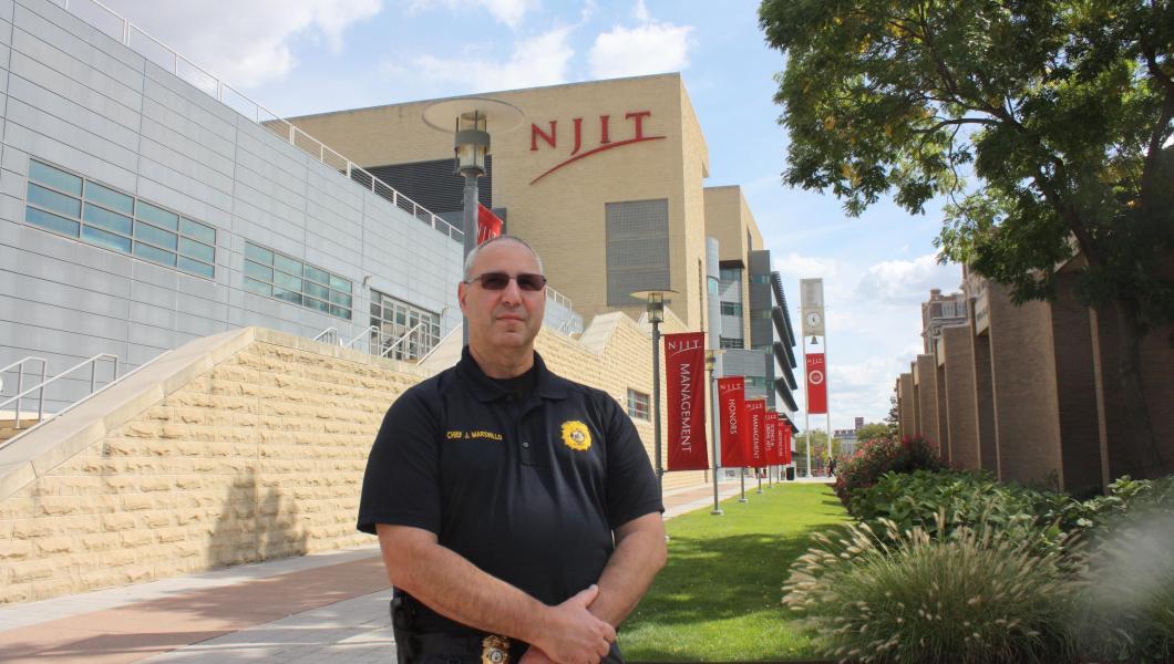 NJIT Police Chief Joseph Marswillo