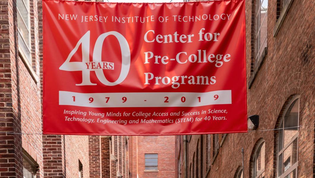 Center for Pre-College Programs 40th anniversary banner