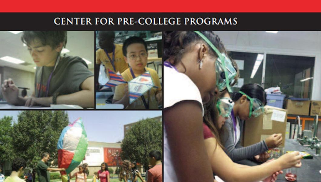 NJIT's Center for Pre-College Programs offers an array of programs to stimulate STEM learning and promote pathways to college.
