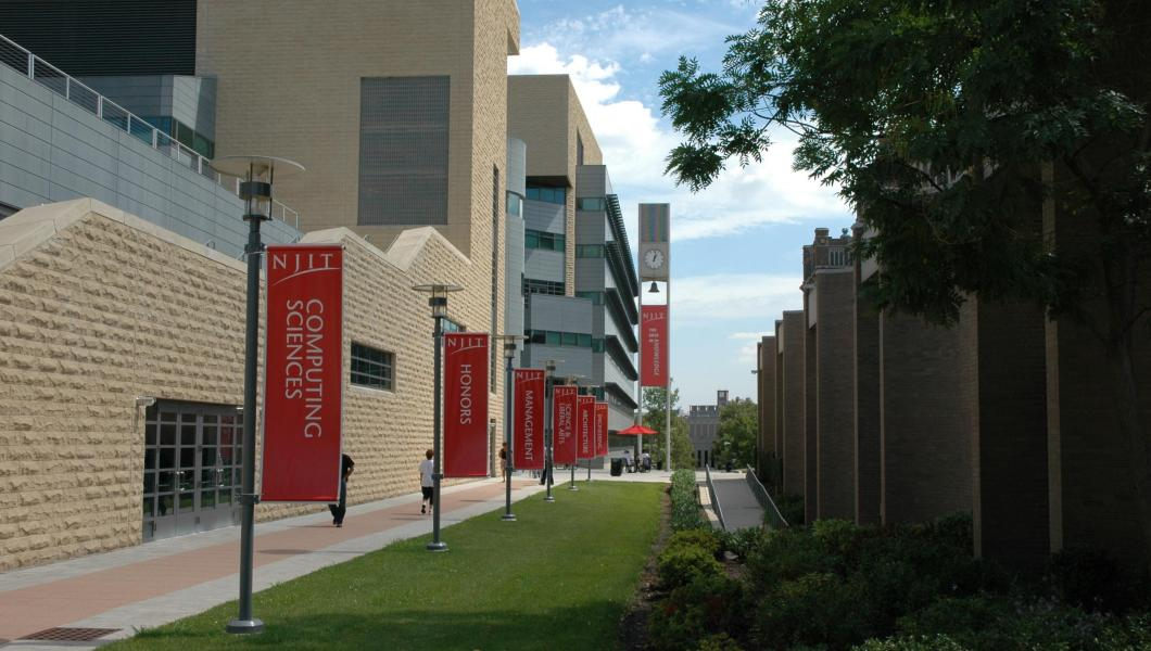 The NJIT campus.