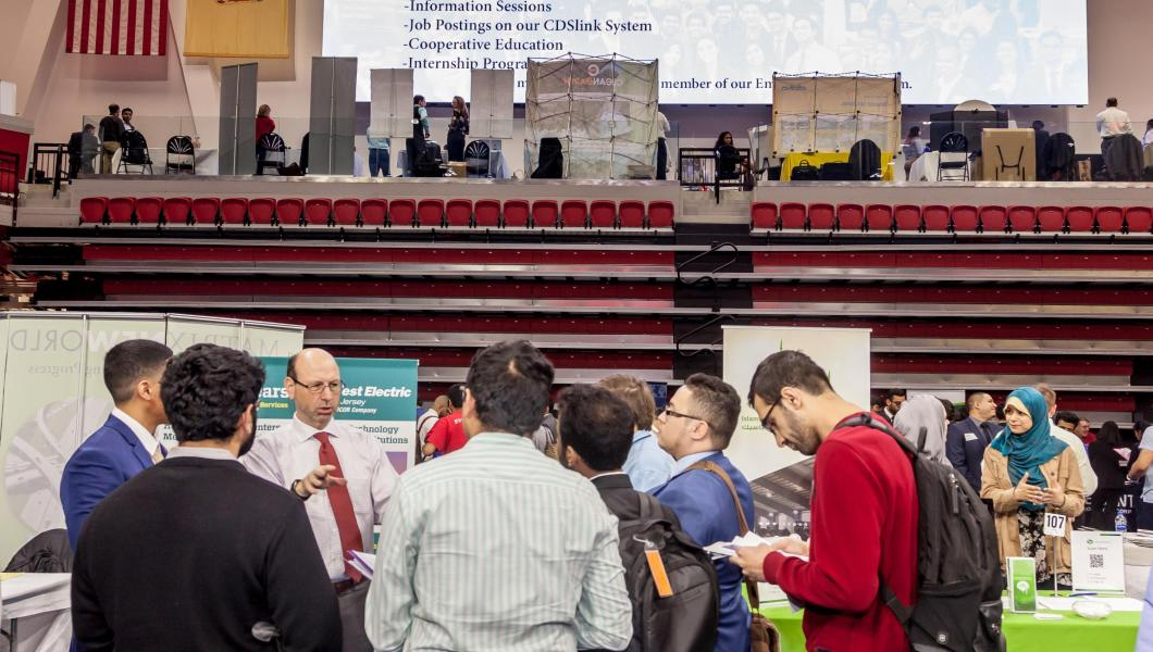 NJIT Career Fair at the Wellness and Events Center