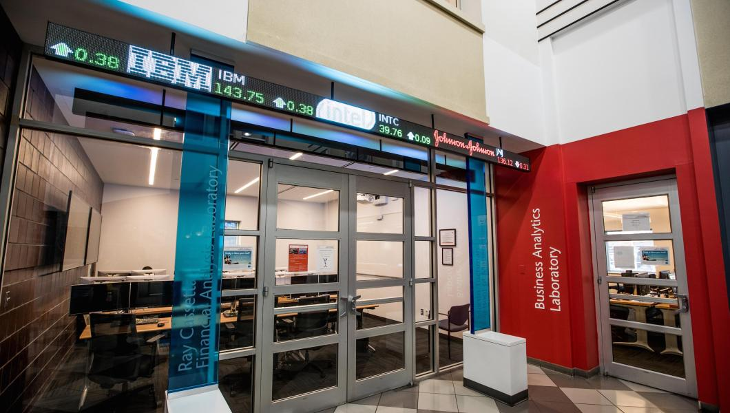 Martin Tuchman School of Management Brings Salesforce to the Business Analytics Lab