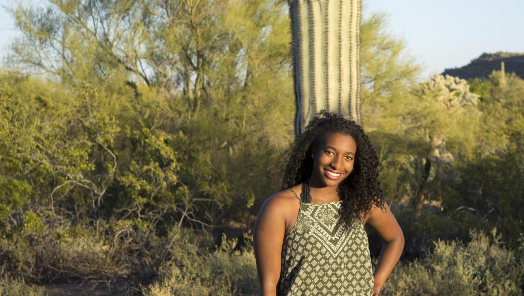 Mikaya Hamilton is coming to NJIT from Mesa, Arizona.