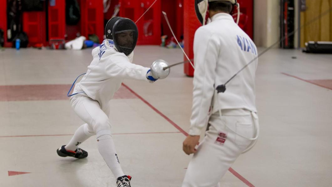 Fencing Competes at NCAA Regionals