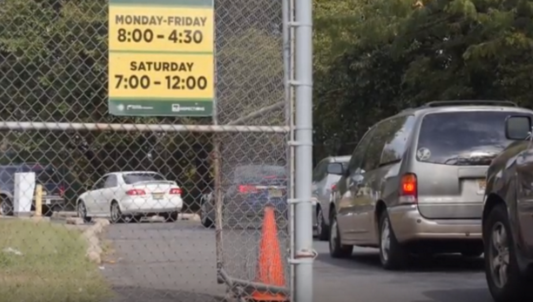 Newark's clogged DMV testing lanes