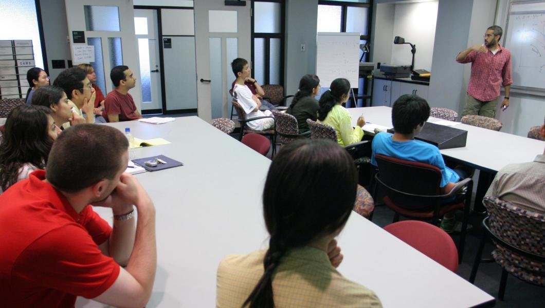 Graduate studies class at NJIT