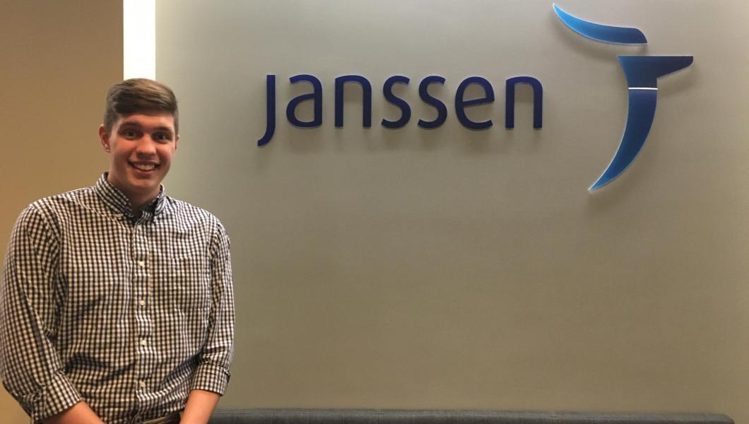 Jeremy Bedient, Intern of the Year 2020