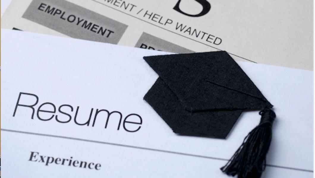 Finding a job after graduation.