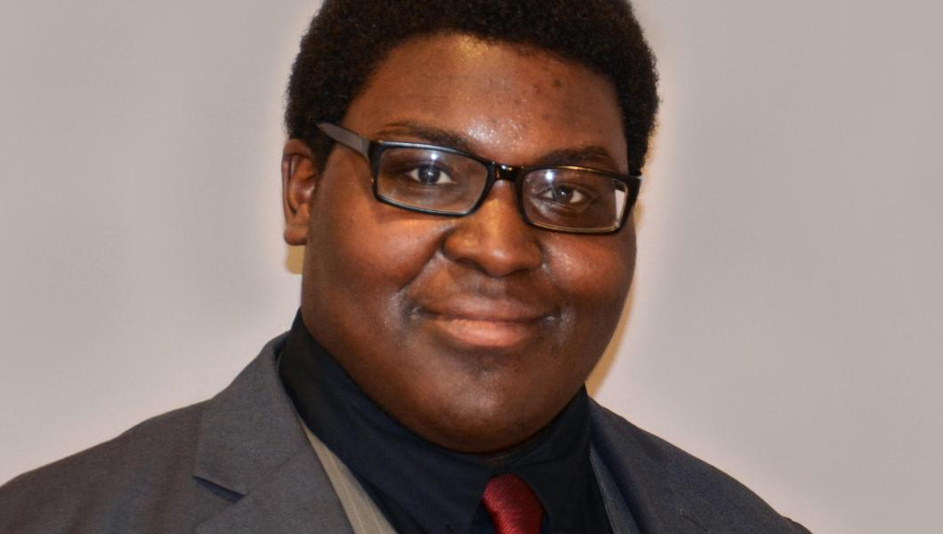 Jonathan Lewis, an alumnus of the Center for Pre-College Programs, is now a biomedical engineering major at NJIT.