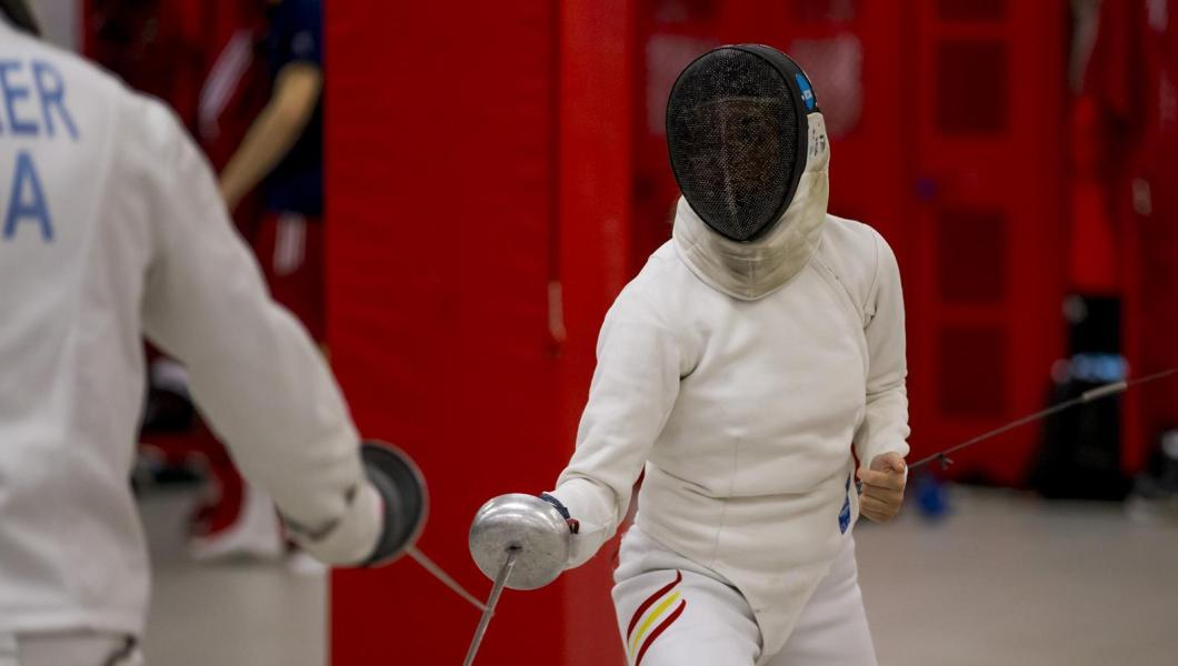 NJIT fencer Julia Garcia finished 19th overall in women's epee at the NCAA Fencing Championships hosted by Notre Dame on Sunday.
