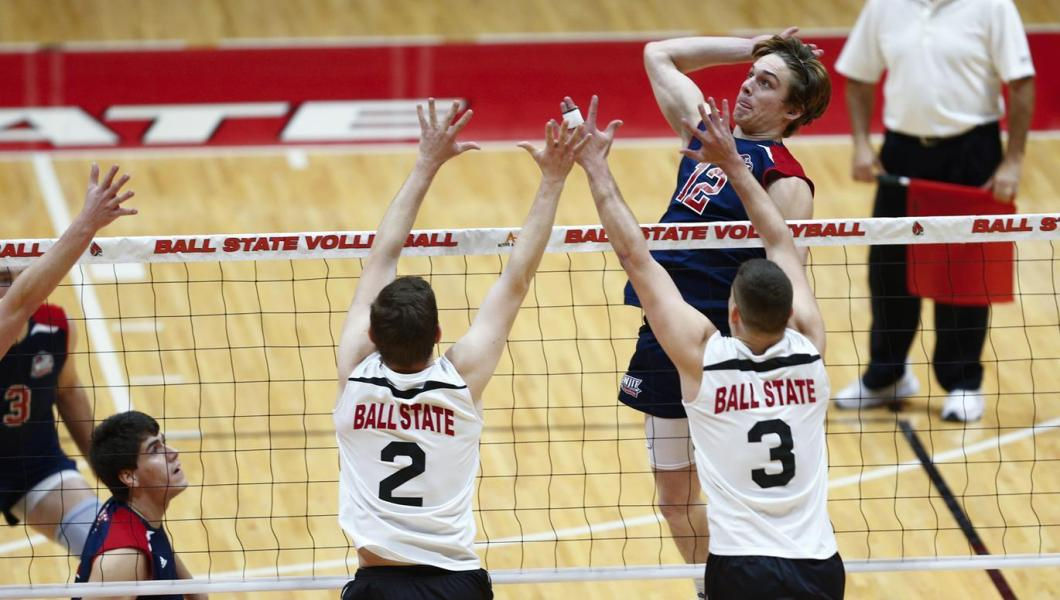 NJIT Upsets #15 George Mason; Goodridge Leads Highlanders with 19 Kills