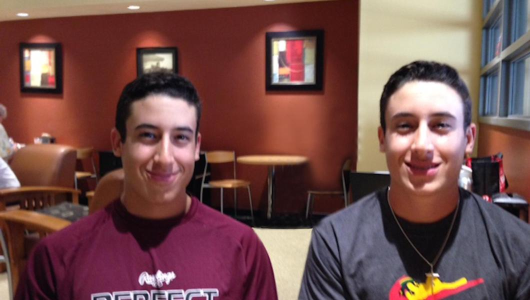 David and Julio Marcano are studying mechanical engineering and playing Highlander baseball.