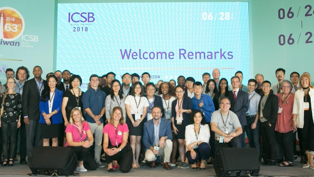 Group photo at the ICSB Academy in Taipei.