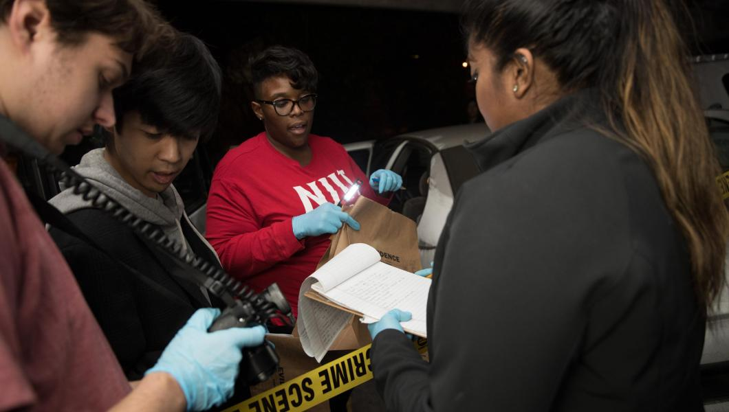 NJIT Forensic Science Students