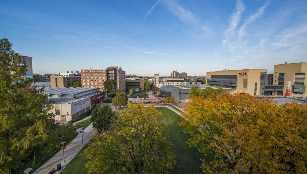 Beautiful Campus of NJIT