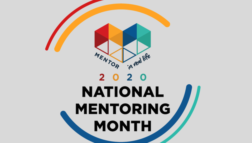 National Mentoring Month logo