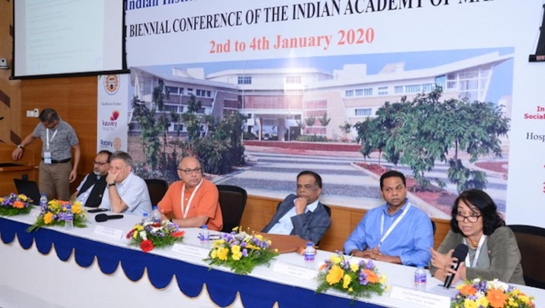 Indian Academy of Management panel discussion