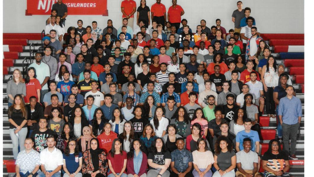 The 2017 class is EOP's third largest.
