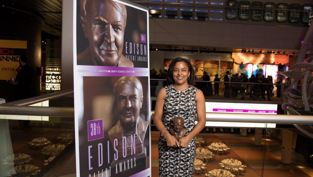Edison Patent Award winner Treena Arinzeh