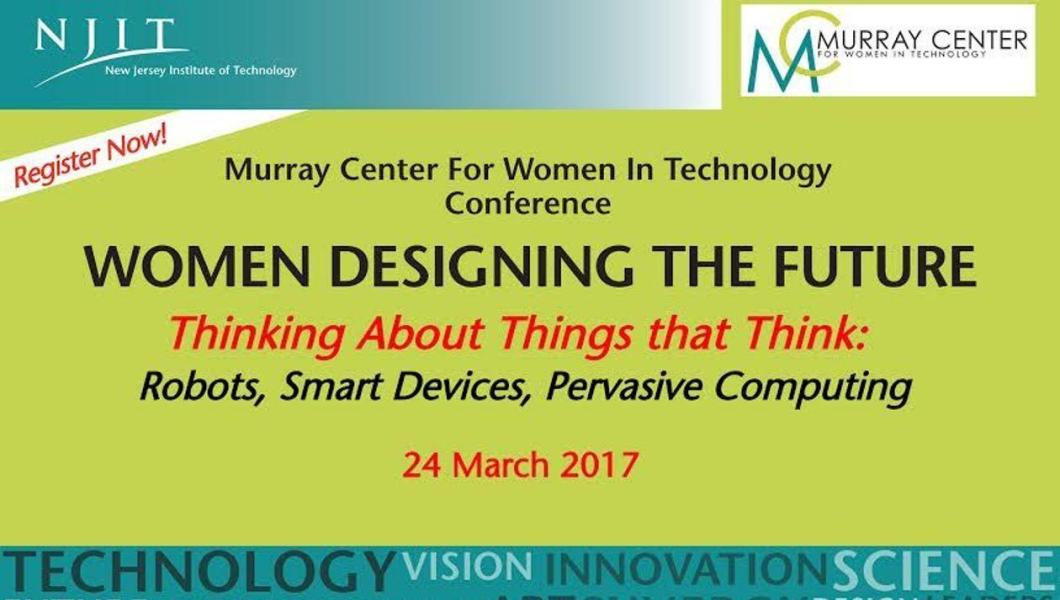 Flyer for Women designing the Future conference