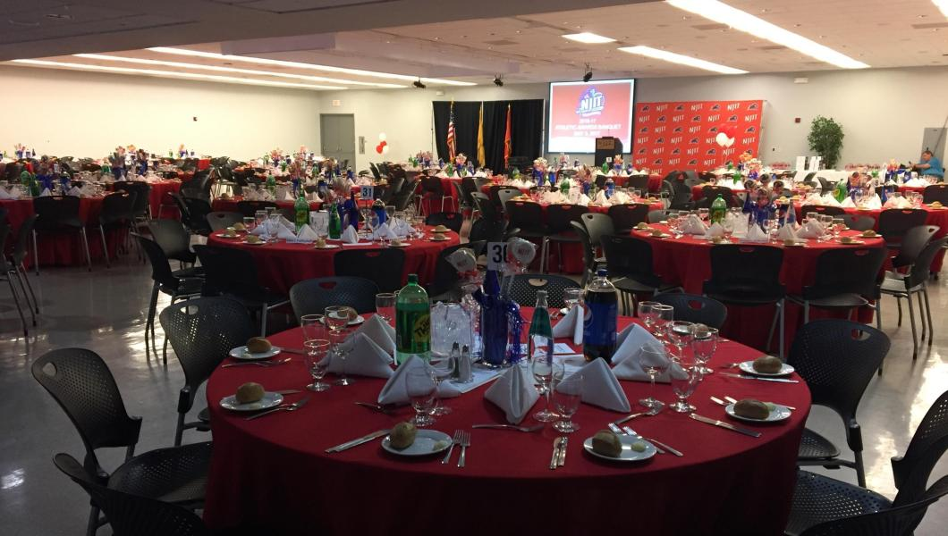 NJIT Athletics Holds 2016-17 Athletics Sports Banquet