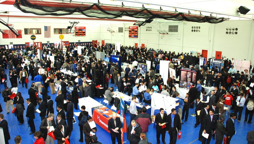 NJIT's Career Development Services will hold its 2017 Fall Career Fair Sept. 27.