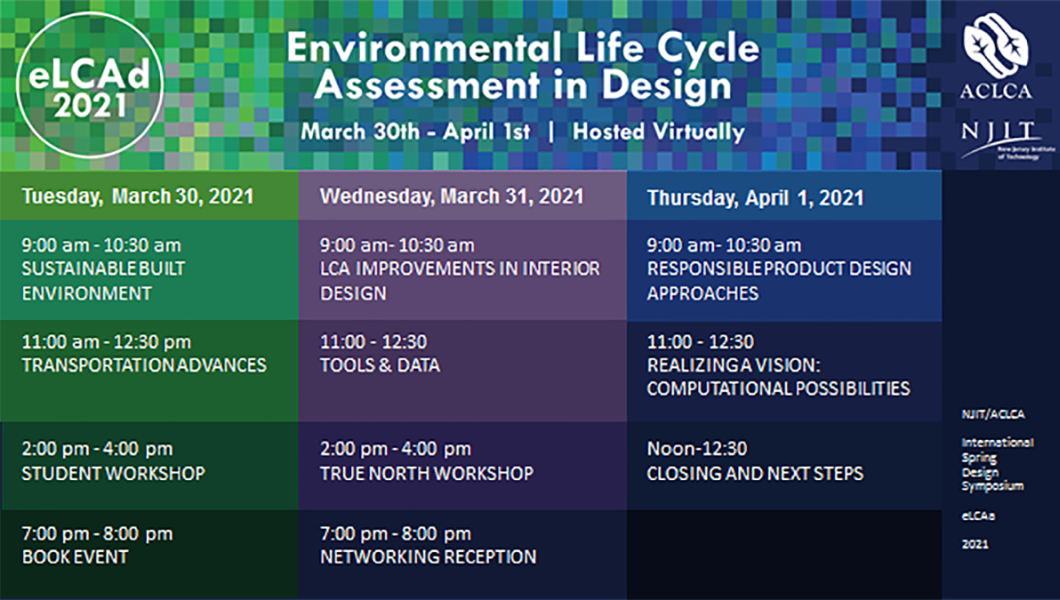 An Environmental Life Cycle Assessment Approach to Design Symposium